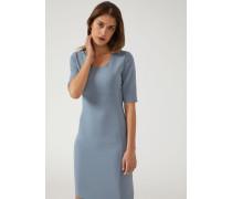 Kurzärmeliges Kleid aus Stretchtrikot