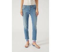 Jeans J36 Mit Slim Fit Aus Stretch-denim