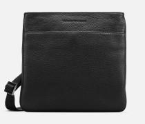 Crossbody Bag aus Genarbtem Leder