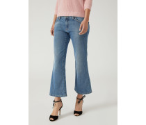 Jeans Flares J34 aus Denim Stone Washed