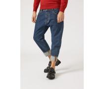 Loose Fit-jeans J04 Aus Baumwolldenim