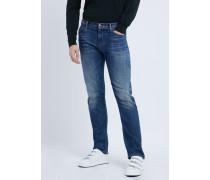 Regular Fit Jeans J45 aus 10 Oz. Schwerem Baumwolldenim in Klassischer Z-köperbindung