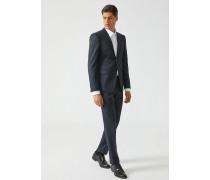 Anzug aus Strukturierter Wolle
