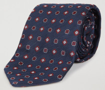 Krawatte aus Seidenmix mit Jacquard-muster