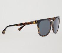 Cat-eye-sonnenbrille mit Schildpatt-gestell