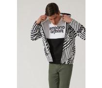 Sweatshirt Aus Interlock-baumwolle Mit Print
