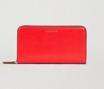Brieftasche aus Gehämmertem Kunstleder