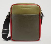 Crossbody Bag Aus Narbenleder