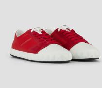 Sneakers aus Weichem Veloursleder mit Dreidimensionaler Sohle