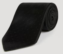 Krawatte aus Seide mit Pünktchenmotiv