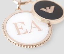 Halskette mit Runden Logoanhängern