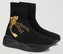 Schlüpf-sneakers Mit Print