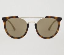 Sonnenbrille mit Profilierter Fassung