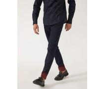 Slim Fit Jeans J06 Aus Denim Mit Farbschattierung Und Kontrastsaum