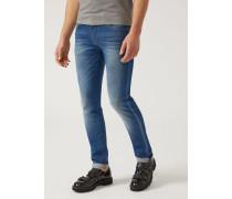 Extra Slim Fit Jeans J10 Aus Baumwollstretch-denim