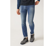 Regular Fit-jeans J15 Aus Denim/baumwollstretch