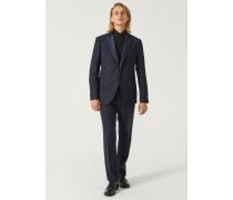 Anzug Modern Fit aus Reiner Schurwolle mit Revers aus Satin