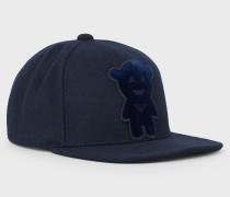 Manga Bear Baseball-cap Aus Wollmischung