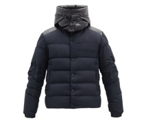 Aubrac Hooded Down Quilted Jacket