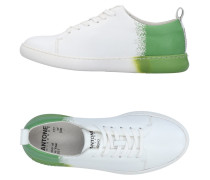 NYC PRINTED LEATHER Low Sneakers