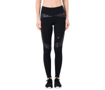 BLACKSTAR LEGGINGS IN TIGHT WEAVE COMPRESSION FABRIC Leggings