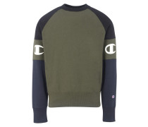 CREWNECK SWEATSHIRT COLOR BLOCK Sweatshirt