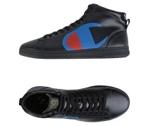 LEATHER MID LOGO BIG High Sneakers