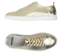 NYC METALLIC LEATHER Low Sneakers