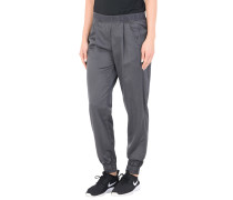 LOGO PANTS SHINING SATEEN Hose