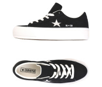 ONE STAR PLATFORM OX GLITTER CANVAS Low Sneakers