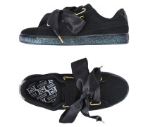 SUEDE HEART SATIN WN'S Low Sneakers