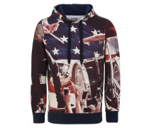 FLEECE HOOD SWEATER CT FLAG Sweatshirt