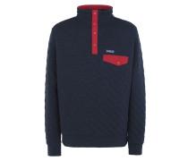 Organic Cotton Quilt Snap Sweatshirt