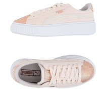 Basket Platform Canvas Wn's Low Sneakers