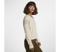 Hurley Not Today Crop Perfect Langarm-T-Shirt für Damen