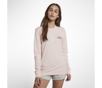 Hurley Team Moore Langarm-T-Shirt für Damen