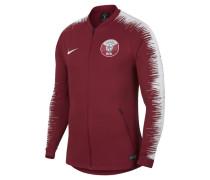 Qatar Anthem Herren-Fußballjacke