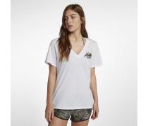 Hurley Aloha Vibes Perfect Damen-T-Shirt mit V-Ausschnitt