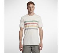 Hurley Pendleton Glacier Striped Herren-T-Shirt