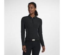 Zonal Cooling Langarm-Golf-Poloshirt für Damen