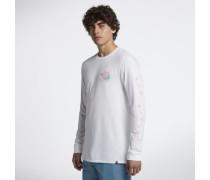 Hurley Premium Trunk It Langarm-T-Shirt für Herren