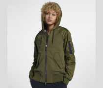 NikeLab Collection Mixed Fabric Bomber Damenjacke