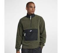 Sportswear Herren-Oberteil mit Halbreißverschluss