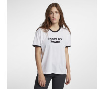 Hurley Carry My Board Ringer Damen-T-Shirt