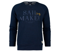 Sweatshirt Watersail blau