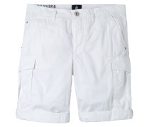 Cargo Shorts Roving weiss