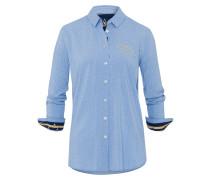 Bluse Flare Anchor blau