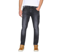 Jeans Foxton schwarz