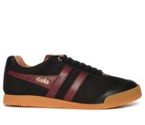 Sneaker schwarz/bordeaux