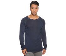 Langarm Pullover blau